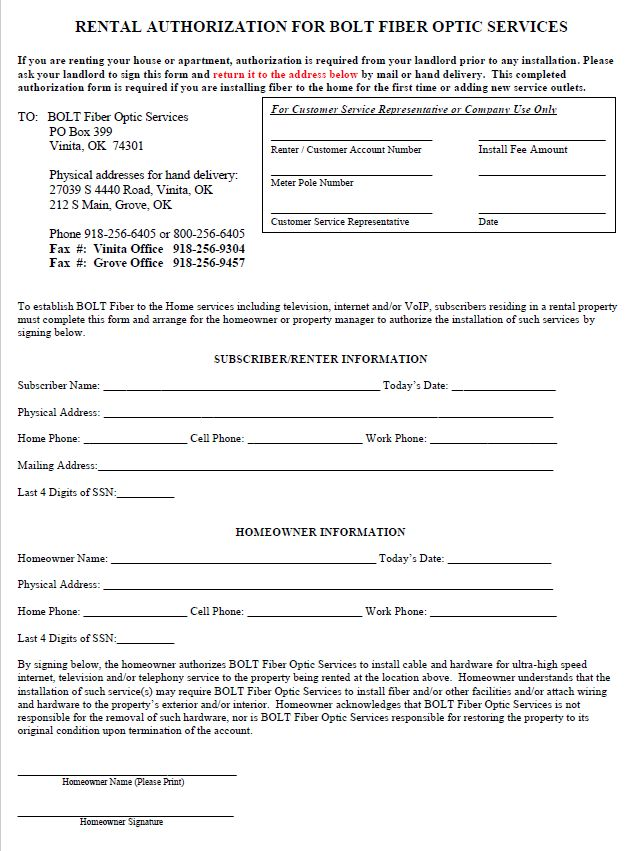 Image of Landlord Agreement